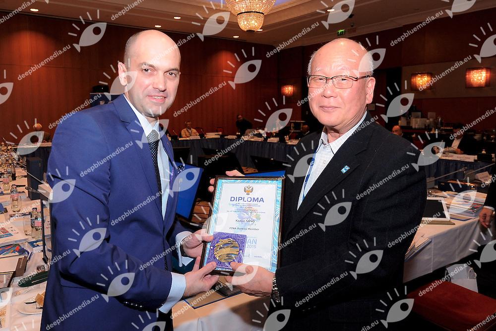 Kadirov, Sano<br /> FINA BEST ATHLETES OF THE YEAR 2015<br /> Hotel Intercontinental Budapest, Hungary<br /> 30 -31 January 2016<br /> Photo G.Scala/Deepbluemedia