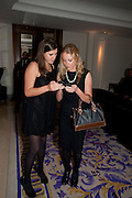 ROSIE O'BRIEN; HELEN ARATHOON, , Liberatum 10th Anniversary dinner in honour of Sir Peter Blake. Hosted by Pable Ganguli and Ella Krasner. The Corinthia Hotel, Whitehall. London. 23 November 2011.