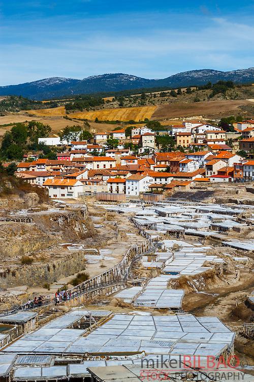 Salinas de Añana. Valle Salado (Salted Valley), Alava, Basque Country, Spain, Europe
