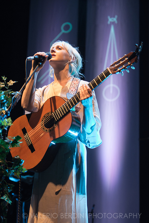 Laura Marling Closing her sold-out tour presenting Semper Femina, the 6th and latest album, at the Roundhouse in Camden Town, London on 21 Mar 2017.<br />
