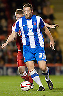 Picture by David Horn/Focus Images Ltd +44 7545 970036.16/10/2012.Steve Howard of Hartlepool United during the npower League 1 match at the Matchroom Stadium, London.