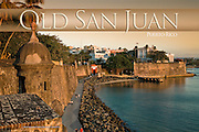 The San Juan Gate or Main Gate is the only remaining from three that gave access to the walled city.