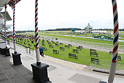 The Knavesmire prior to the Mid Summer Raceday at York Racecourse, York, United Kingdom on 15 June 2018. Picture by Mick Atkins.