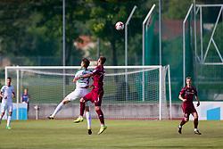 Nik Kapun of NK Olimpija Ljubljana during football match between NK Triglav Kranj and NK Olimpija Ljubljana in 4th Round of Prva liga Telekom Slovenije 2017/18, on August 5, 2017 in Dravograd, Slovenia. Photo by Ziga Zupan / Sportida