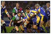 Harlequins v Leeds 21-12-2002. Season 2002-2003. Powergen Cup