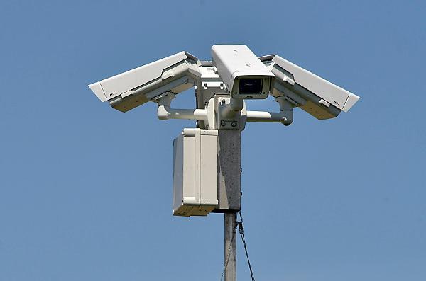 Nederland, Nijmegen, 13-6-2014Mobiele bewakingscameras op het terrein van een bouwproject.Foto: Flip Franssen/Hollandse Hoogte