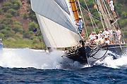 Mariette at the Antigua Classic Yacht Regatta