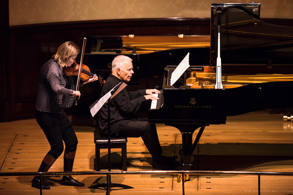 Alina Ibragimova (violin) join Stephen Kovacevich to celebrate his 75th birthday at Wigmore Hall