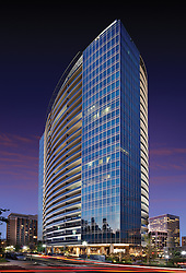 Turnberry Tower developed by Turnberry Associates Office building exterior
