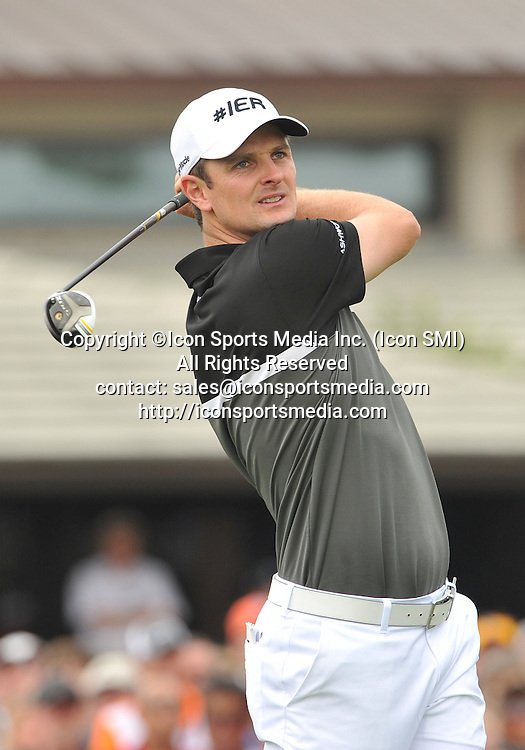 24 March 2013:Justin Rose during the final round of the Arnold Palmer Invitational at Arnold Palmer's Bay Hill Club & Lodge in Orlando, Florida.