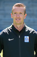 Genk's goalkeeper coach Erwin Lemmens pictured during the 2015-2016 season photo shoot of Belgian first league soccer team KRC Genk, Friday 10 July 2015 in Genk