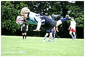 Saracens coaching camp at RAF Halton. Tues 4-8-09