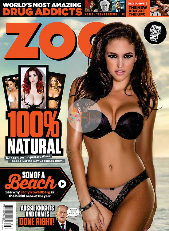 Jaclyn Swedberg for ZOO WEEKLY Australia :: 9 February 2015 cover/feature