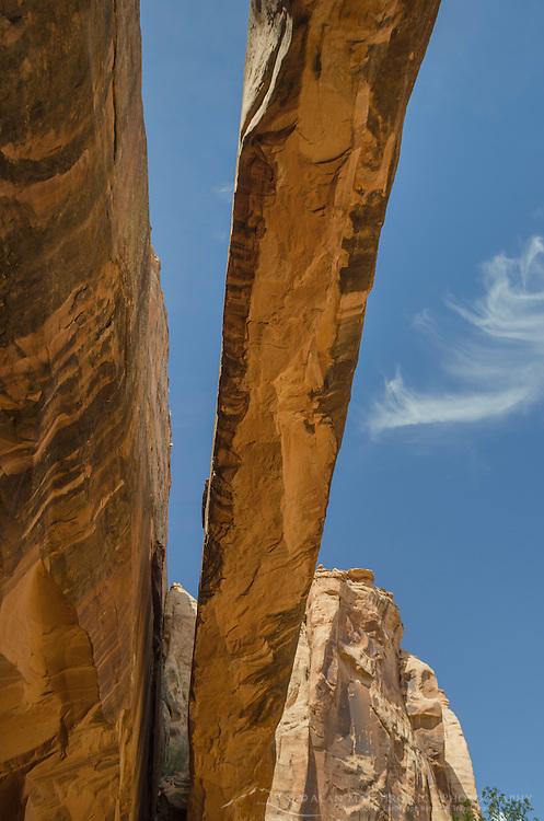 Morning Glory Arch near Moab Utah