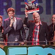 NLD/Amsterdam/20110414 - Uitreiking 3FM Awards 2011, Blof, Paskal Jakobsen, Peter Slager, Bas Kennis, Norman Bonink