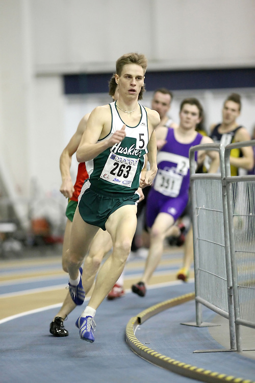 Windsor, Ontario ---12/03/09--- Iain McCormick of  the University of Saskatchewan competes in the 600m Prelims at the CIS track and field championships in Windsor, Ontario, March 12, 2009..Sean Burges Mundo Sport Images