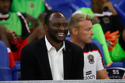 Vieira Patrick coach of Nice during the French championship L1 football match between Olympique Lyonnais and Amiens on August 12th, 2018 at Groupama stadium in Decines Charpieu near Lyon, France - Photo Romain Biard / Isports / ProSportsImages / DPPI