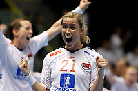 20111218: SAO PAULO, BRAZIL - Norway players celebrate victory after France vs Norway final match of the XX World Handball<br /> PHOTO: CITYFILES