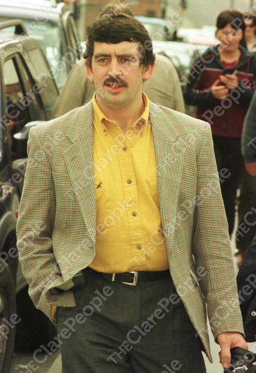 Nessan Quinlivan leaving the High Court in 1999. PIC:MARC O'SULLIVAN/COLLINS/DUBLIN