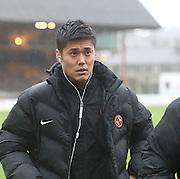 Dundee United new boy Eiji Kawashima - Dundee v Dundee United, Ladbrokes Premiership at Dens Park<br /> <br />  - &copy; David Young - www.davidyoungphoto.co.uk - email: davidyoungphoto@gmail.com