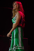 Becky Hill performs at Girl Guiding Scotland Tartan Gig at SSE Hydro, Glasgow, Scotland on 31 August 2019. Picture by Colin Poultney.