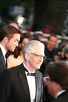 Director David Cronenberg, at the Cosmopolis gala screening at the 65th Cannes Film Festival France. Cosmopolis is directed by David Cronenberg and based on the book by writer Don Dellilo.  Friday 25th May 2012 in Cannes Film Festival, France.