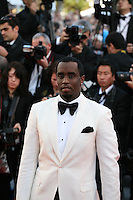 P Diddy at the Killing Them Softly gala screening at the 65th Cannes Film Festival France. Tuesday 22nd May 2012 in Cannes Film Festival, France.