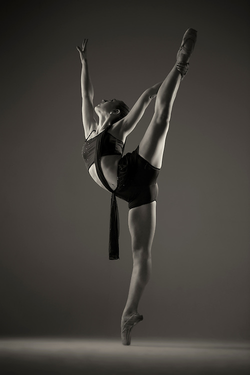 Dance As Art Studio Photography Series with dancer Mykaila Symes