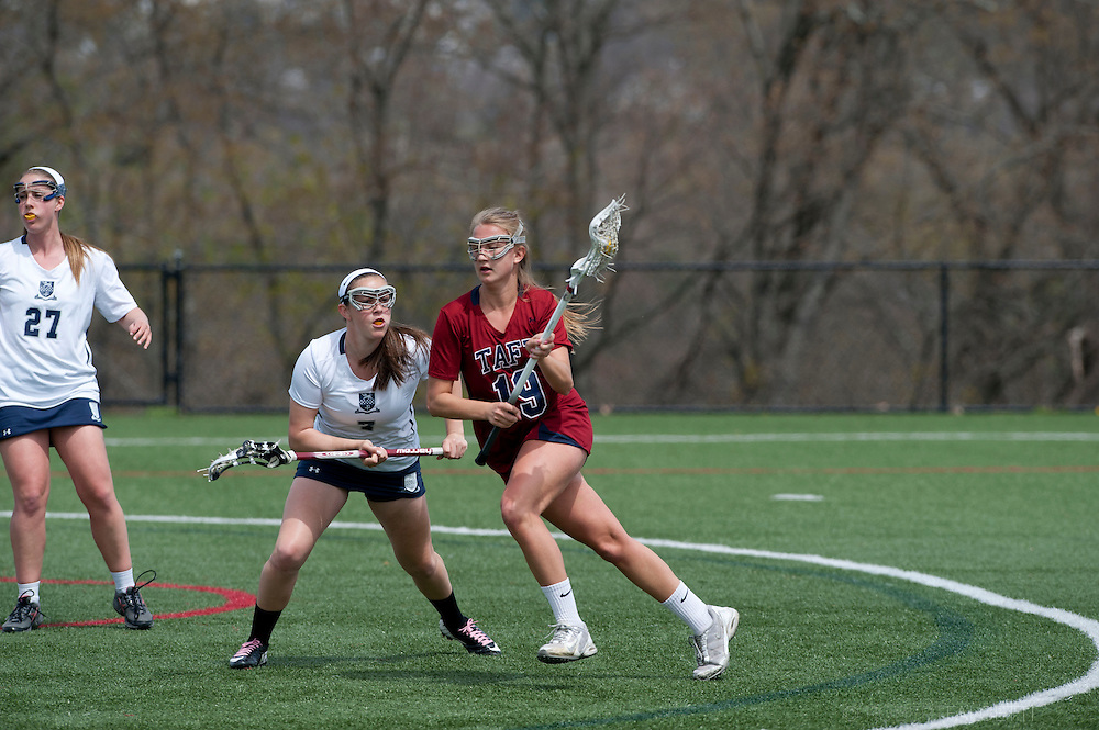 Taft School-May 7, 2014- Girls Varsity Lacrosse v Kent. (Photo by Robert Falcetti Studio)