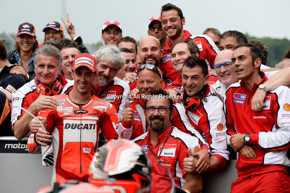 28.06.2014.  Assen, Netherlands. MotoGP. Iveco Daily TT Assen Race.Andrea Dovizioso (Ducati Team) during the TT Assen race.