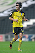 Will Packwood of Colchester United during the Sky Bet League 1 match between Milton Keynes Dons and Colchester United at stadium:mk, Milton Keynes<br /> Picture by Richard Blaxall/Focus Images Ltd +44 7853 364624<br /> 29/11/2014