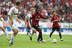 25.08.2012, Commerzbank Arena, Frankfurt, GER, 1. FBL, Eintracht Frankfurt vs Bayer 04 Leverkusen, 1. Runde, im Bild Olivier Occean (Frankfurt) im Aktion // during the German Bundesliga 1st round match between Eintracht Frankfurt and Bayer 04 Leverkusen at the Commerzbank Arena, Frankfurt, Germany on 2012/08/25. EXPA Pictures © 2012, PhotoCredit: EXPA/ Eibner/ Bildpressehaus..***** ATTENTION - OUT OF GER *****
