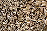 Geometrical timber work, The J?meh Mosque of Yazd
