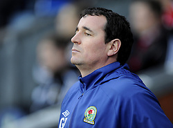 Blackburn Rovers Care Taker Manger, Gary Bowyer - Photo mandatory by-line: Joe Meredith/JMP  - Tel: Mobile:07966 386802 05/01/2013 - Blackburn Rovers v Bristol City - SPORT - FOOTBALL - FA Cup -  BLACKBURN - EWOOD PARK -