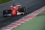 February 26, 2017: Circuit de Catalunya. Sebastian Vettel (GER), Scuderia Ferrari, SF70H