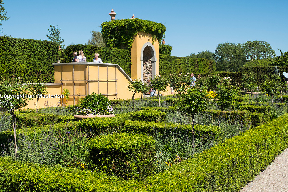 Renaissance Garden at IGA 2017 International Garden Festival (International Garten Ausstellung) in Berlin, Germany