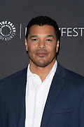 "GENO SEGERS attends the NBC Presentation of ""Perfect Harmony"" at the 2019 PaleyFest Fall TV Previews at the Paley Center for Media in Beverly Hills, California"