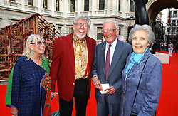 Left to right, Artist ROLF HARRIS, his wife ALWEN and LORD & LADY CARRINGTON at the Royal Academy of Art's SUmmer Party following the official opening of the Summer Exhibition held at the Royal Academy of Art, Burlington House, Piccadilly, London W1 on 7th June 2006.<br />