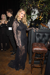 LADY KITTY SPENCER at the Veuve Clicquot Widow Series launch party hosted by Nick Knight and Jo Thornton MD Moet Hennessy UK held at The College, Central St.Martins, 12-42 Southampton Row, London on 29th October 2015.