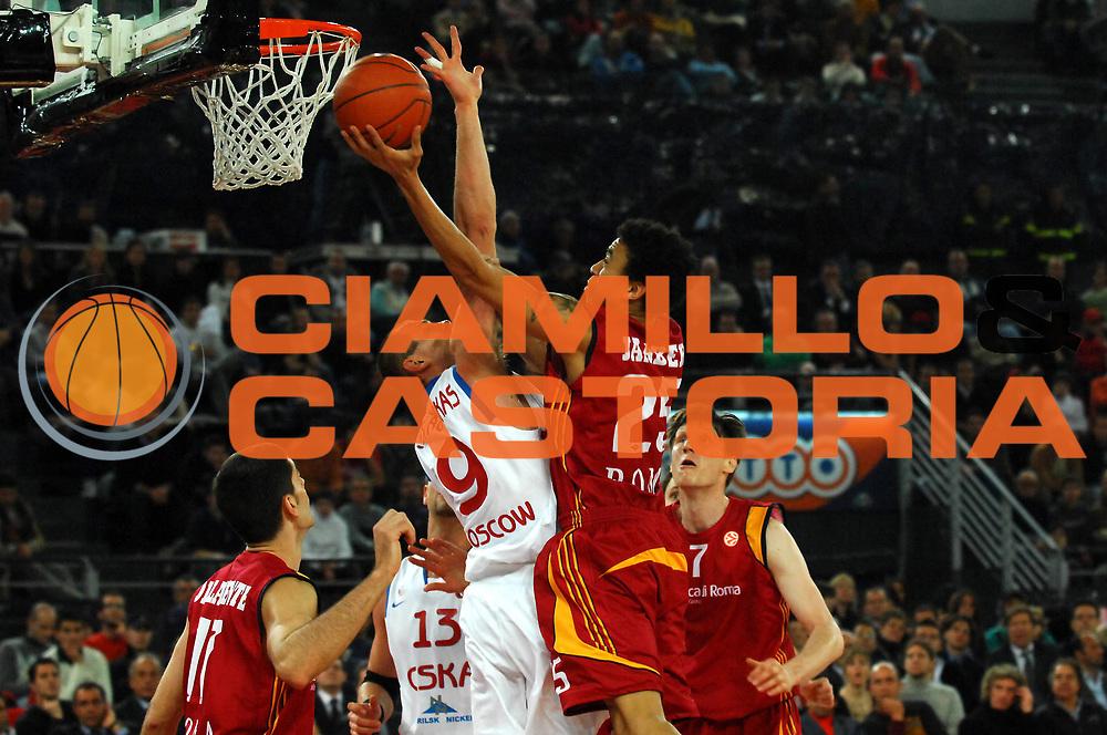 DESCRIZIONE : Roma Eurolega 2007-08 Top 16 Lottomatica Virtus Roma  CSKA Mosca<br /> GIOCATORE : Ibrahim Jabeer<br /> SQUADRA : Lottomatica Virtus Roma<br /> EVENTO : Eurolega 2007-2008 <br /> GARA : Lottomatica Virtus Roma CSKA Mosca<br /> DATA : 06/03/2008<br /> CATEGORIA : Tiro<br /> SPORT : Pallacanestro <br /> AUTORE : Agenzia Ciamillo-Castoria/E. Grillotti<br /> Galleria : Eurolega 2007-2008 <br /> Fotonotizia : Roma Eurolega 2007-2008 Top 16 Lottomatica Virtus Roma Cska Mosca <br /> Predefinita :