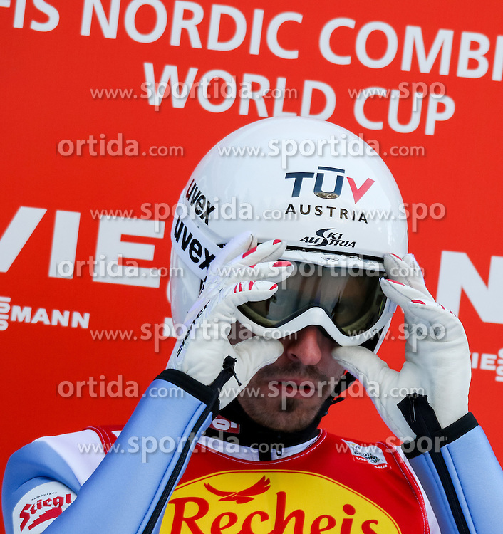 17.12.2016, Nordische Arena, Ramsau, AUT, FIS Weltcup Nordische Kombination, Skisprung, im Bild Lukas Klapfer (AUT) // Lukas Klapfer of Austria during Skijumping Competition of FIS Nordic Combined World Cup, at the Nordic Arena in Ramsau, Austria on 2016/12/17. EXPA Pictures © 2016, PhotoCredit: EXPA/ Martin Huber