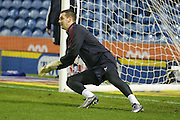 Burnley goalkeeper Thomas Heaton during the Sky Bet Championship match between Burnley and Derby County at Turf Moor, Burnley, England on 25 January 2016. Photo by Simon Davies.