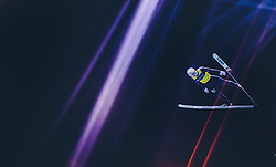 29.09.2018, Energie AG Skisprung Arena, Hinzenbach, AUT, FIS Ski Sprung, Sommer Grand Prix, Hinzenbach, im Bild Evgeniy Klimov (RUS) // Evgeniy Klimov of Russian Federation during FIS Ski Jumping Summer Grand Prix at the Energie AG Skisprung Arena, Hinzenbach, Austria on 2018/09/29. EXPA Pictures © 2018, PhotoCredit: EXPA/ JFK