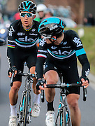 BELGIUM  / BELGIE / BELGIQUE / HARELBEKE / CYCLING / WIELRENNEN / CYCLISME / KLASSIEKER / 59TH RECORD BANK E3 HARELBEKE / UCI WORLD TOUR / UCI WORLDTOUR /  HARELBEKE TO HARELBEKE 206 KM / KWIATKOWSKI MICHAL (TEAM SKY) / GOLAS MICHAL (TEAM SKY)