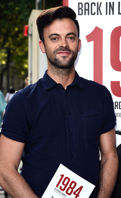 Jolyon Rubinstein attends 1984 Play press night at The Playhouse, Norththumberland Avenue, London on Thursday 18 June 2015