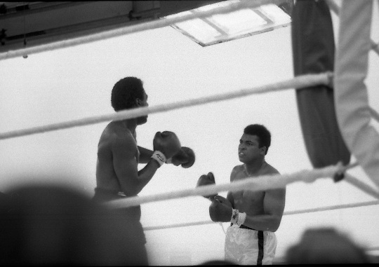 Ali vs Lewis Boxing at Croke Park.19/07/1972<br />