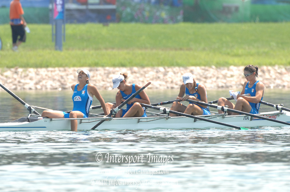 Beijing, CHINA.  at  the  2007. FISA Junior World Rowing Championships,  Shunyi Water Sports Complex. 11/08/2007 [Photo, Peter Spurrier/Intersport-images]..... , Rowing Course, Shun Yi Water Complex, Beijing, CHINA,