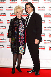 October 18, 2016 - London, London, UK - DAME BARBARA WINDSOR and husband SCOTT MITCHELL attend the Variety Showbiz Awards at the Hilton Park Lane Hotel. London, UK. (Credit Image: © Ray Tang/London News Pictures via ZUMA Wire)