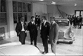 1964 - Mercedes introduce new cars to the Irish Market at a reception held at Ballsbridge Motors Ltd