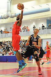 Bristol Flyers' Alif Bland - Photo mandatory by-line: Dougie Allward/JMP - Mobile: 07966 386802 - 13/03/2015 - SPORT - Basketball - Bristol - SGS Wise Campus - Bristol Flyers v Leicester Riders - British Basketball League